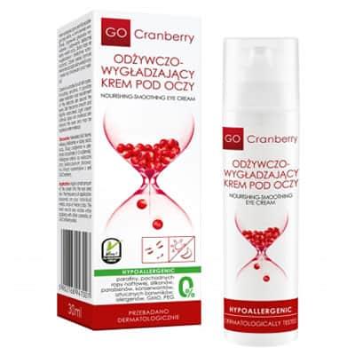 Odżywczo-Wygładzający Krem Pod Oczy GoCranberry 30 ml Gocranberry