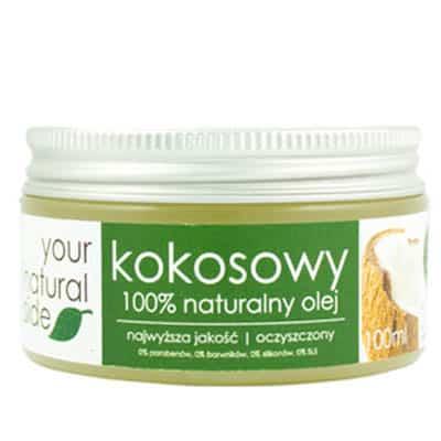 Olej kokosowy rafinowany 100ml Your Natural Side