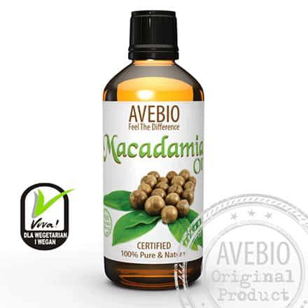 Olejek makadamia - ujędrniona i napięta skóra 100 ml Avebio