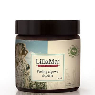 Naturalny antycellulitowy peeling algowy do ciała 120ml LILLA MAI