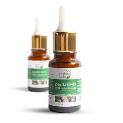 Olej z Pestek Śliwki nierafinowany 10ml