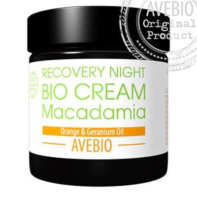 Regeneracyjny BIO krem na noc z olejem makadamia 60ml AVEBIO