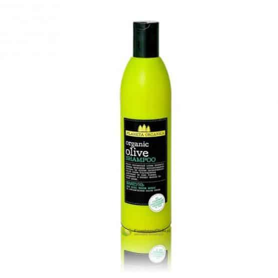 Szampon do włosów – organiczny olej z oliwek, jarzębina, olej z nasion czarnej porzeczki 360ml Planeta Organica