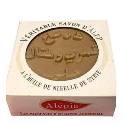 Mydło Alep z olejem Nigella 125g Alepia