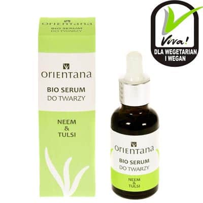 BIO SERUM do twarzy NEEM & TULSI 30ml Orientana