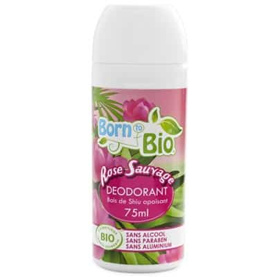 Born to Bio Dezodorant BIO Dzika Róża 75ml