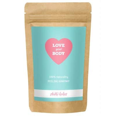 Love Your Body Peeling Kawowy – Słodki Kokos 100g