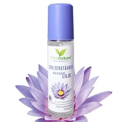 Naturalny dezodorant w sprayu lilią wodną 75ml Cosnature
