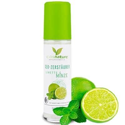 Naturalny dezodorant w sprayu limonka i mięta 75ml Cosnature