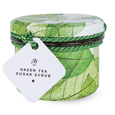 Cukrowy peeling z zieloną herbatą – Green Tea Sugar Scrub 200ml Achae