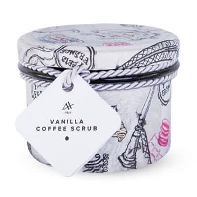Kawowy peeling waniliowy – Vanilla Coffee Scrub 200ml Achae