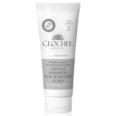 Delikatny szampon do wrażliwej skóry głowy 100ml Clochee