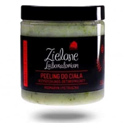 Peeling do ciała oczyszczająco-detoksykujący z rozmarynem i pietruszką 350g Zielone Laboratorium