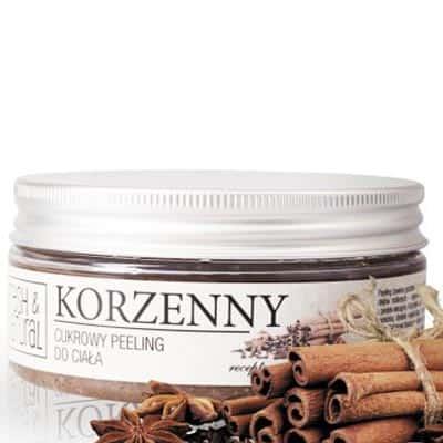 Cukrowy peeling do ciała KORZENNY 250g Fresh&Natural