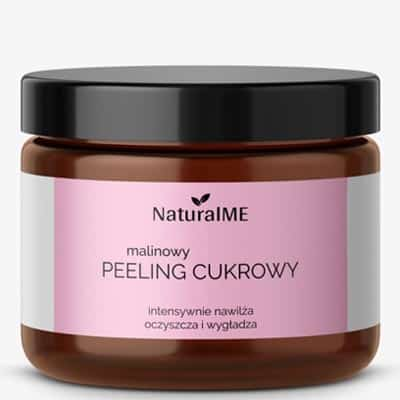 Malinowy peeling cukrowy 200ml NATURALME