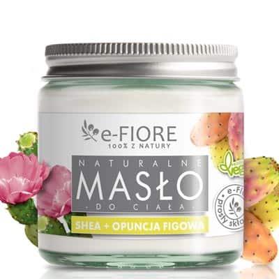 Masło do ciała 100% naturalne shea butter z opuncją figową 120ml e-FIORE