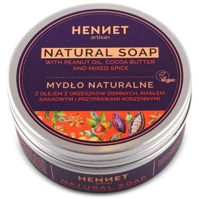 Mydło naturalne z przyprawami korzennymi 110g HENNET