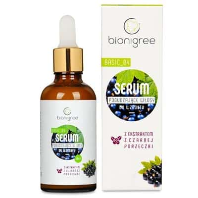 Serum pobudzające włosy do wzrostu 50ml Bionigree