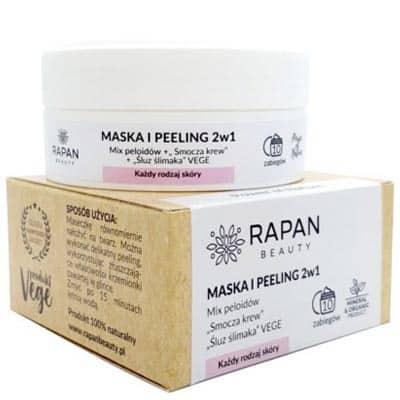 Maska i peeling 2w1 Power of Nature Intensive Care 10 zabiegów Rapan beauty