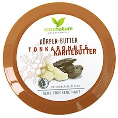 Naturalne odżywcze masło do ciała z masłem shea i tonką 200ml Cosnature