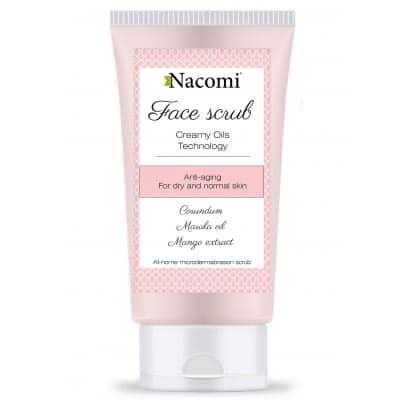 Peeling do twarzy przeciwzmarszczkowy 85ml Nacomi