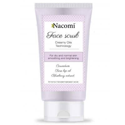 Peeling do twarzy wygładzający 85ml Nacomi