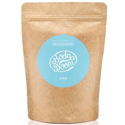 BODY BOOM Peeling kawowy Imprezowy Kokos 200g