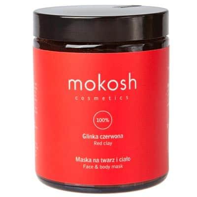 Glinka czerwona 180ml Mokosh