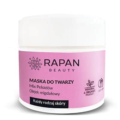 Maseczka Rapan beauty Pure Nature Intensive Care 10 zabiegów 50ml Rapan beauty