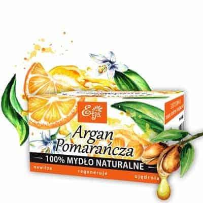 Mydło Argan&Pomarańcza 80g Etja