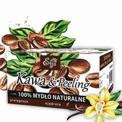 Mydło Kawa&Peeling 80g Etja