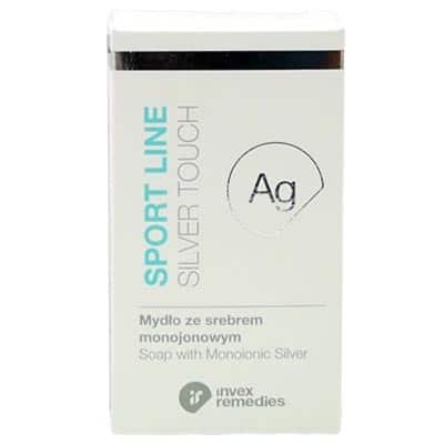 Mydło ze srebrem monojonowym Ag Sport Line Silver Touch 100g Invex Remedies