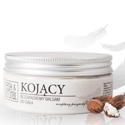 KOJĄCY bezzapachowy balsam do ciała 250ml Fresh&Natural