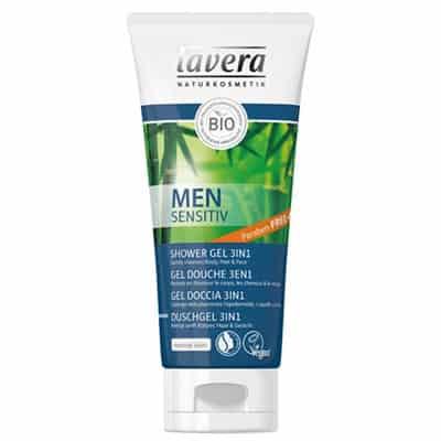Lavera Men Szampon do włosów i ciała 3w1 z wyciągiem z bio-bambusa i bio-guarany 200ml