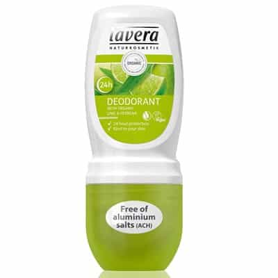 Lavera dezodorant roll-on LIME SENSATION z wyciągiem z bio-limonki 50ml