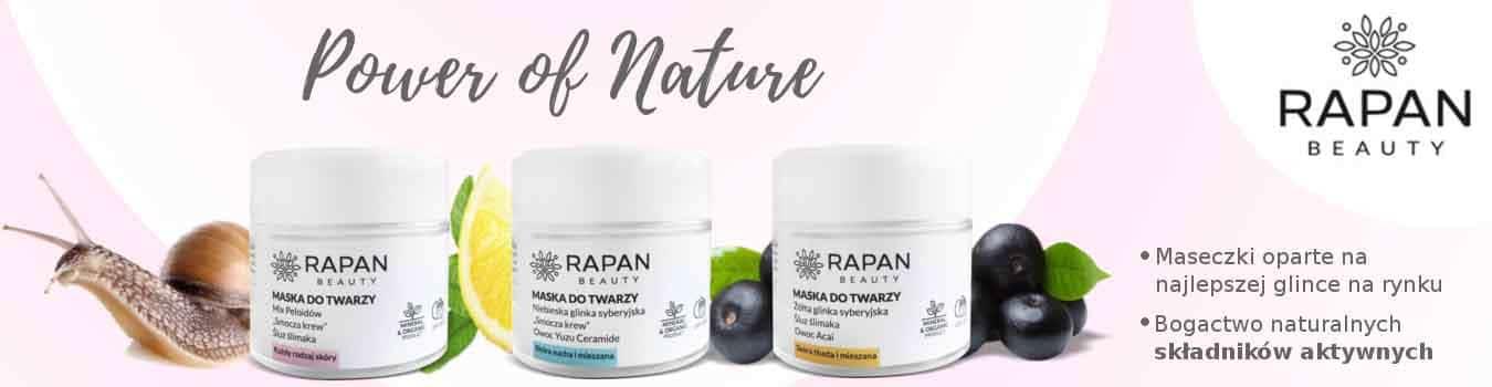 Całkowicie naturalne. Czyste ekologicznie. Niezywkle skuteczne do każdego rodzaju skóry kosmetyki marki Rapan.