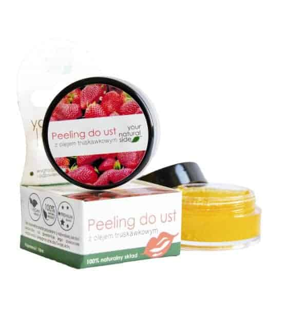 Peeling do ust z olejem truskawkowym 10ml Your Natural Side