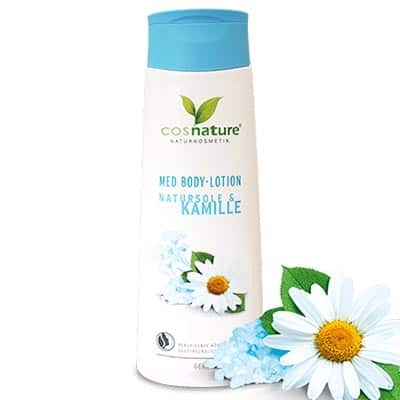 Naturalny lotion do ciała z solanką i rumiankiem MED 250ml Cosnature