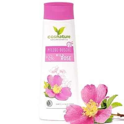 Naturalny nawilżający szampon do włosów z dziką różą 200ml Cosnature