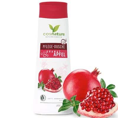 Naturalny odżywczy żel pod prysznic z owocem granatu 250ml Cosnature