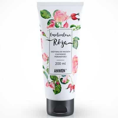 Emolientowa Róża – odżywka do włosów o wysokiej porowatości 200ml Anwen