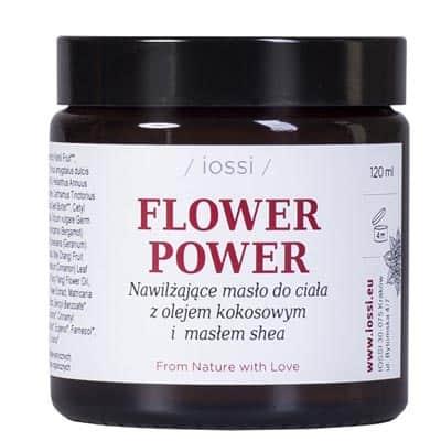 Masło do ciała Flower Power. Geranium & Bergamotka 120ml IOSSI