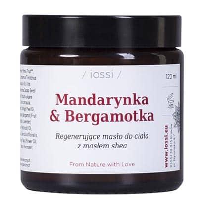 Masło do ciała Mandarynka i Bergamotka 120ml IOSSI