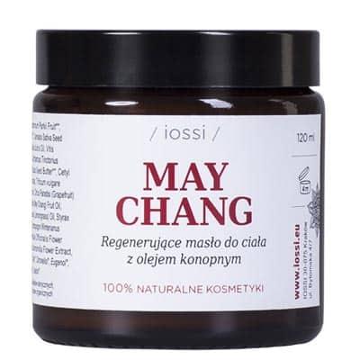 Regenerujące masło do ciała May Chang z olejem konopnym 120ml IOSSI