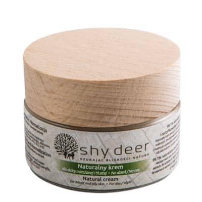 Naturalny krem dla skóry mieszanej i tłustej 50ml Shy Deer