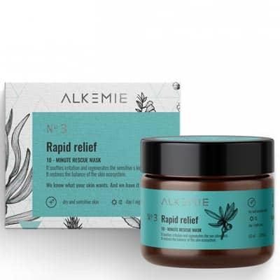 Maska ratunkowa 10-minutowa – Microbiome Rapid relief 60ml Alkemie