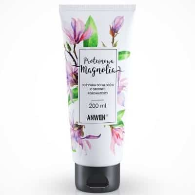 Proteinowa Magnolia – odżywka do włosów o średniej porowatości 200ml Anwen
