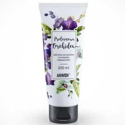 Proteinowa Orchidea – odżywka do włosów o wysokiej porowatości 200ml Anwen