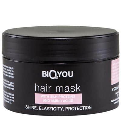 Regeneracyjna maska odżywcza do włosów z proteinami i aminokwasami jedwabiu 200ml BIO2YOU HairPro