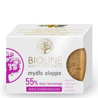 Mydło aleppo 55% 200g Bioline